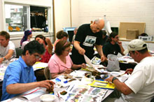 E.J. Gold offers watercolor, drawing, sculpture & charcoal classes